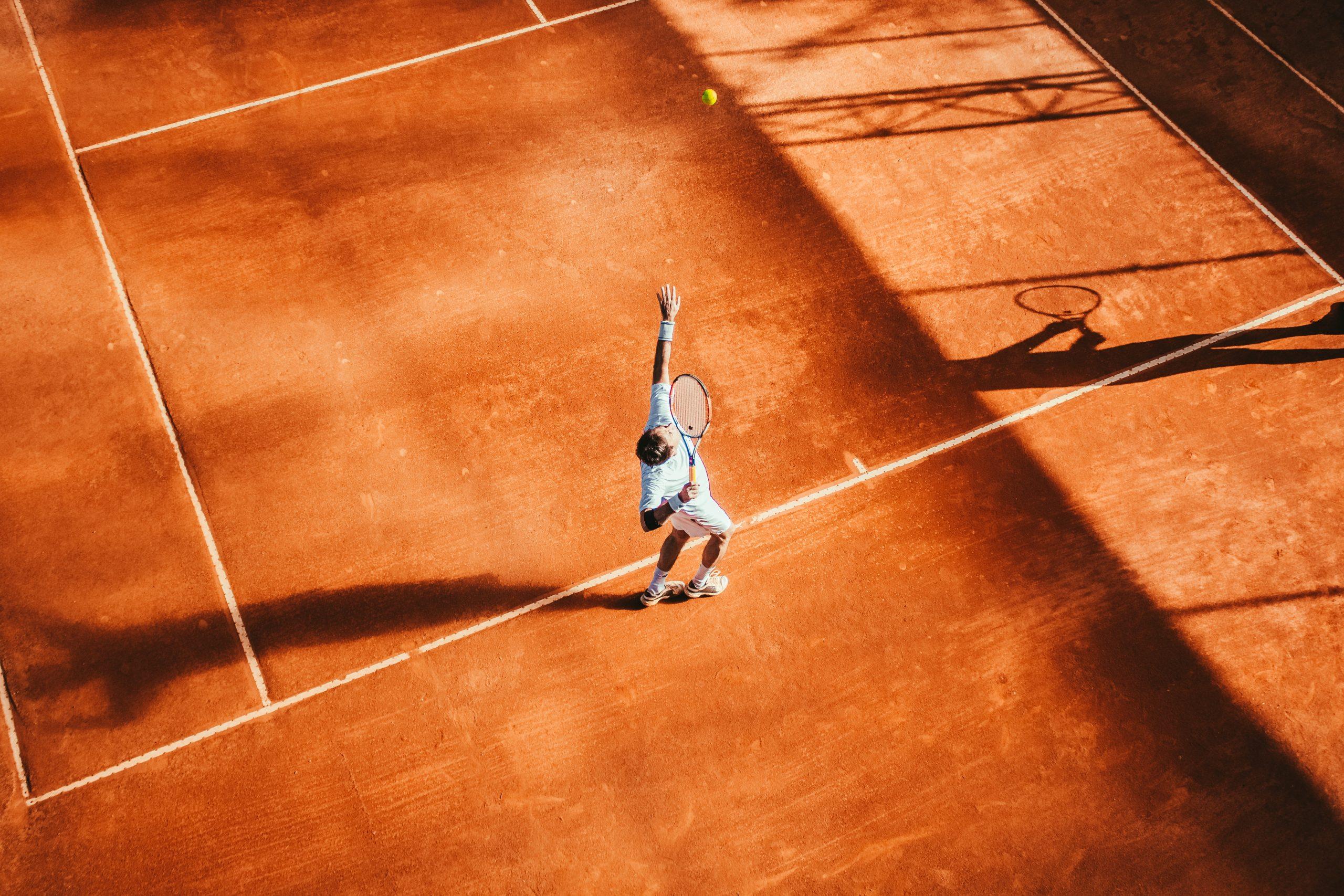 tennis ketcher